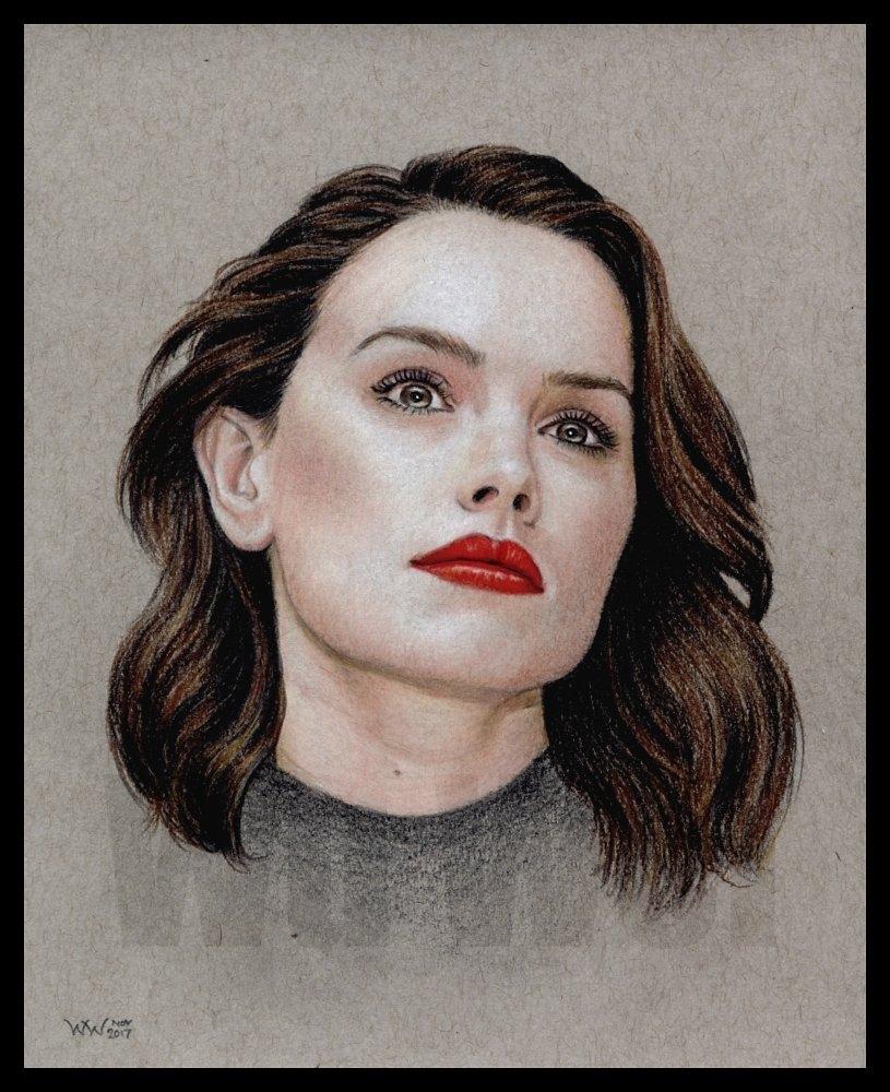 Daisy Ridley by wu-wei
